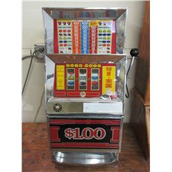 Electrix Dollar Slot Machines- Works But Needs Adjustment- Takes Ike Dollars