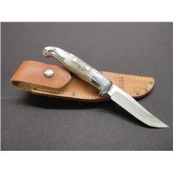 Marked RH Ruana Bonner Montana 13B Knife-Signed VN Hangas-  Original Sheath- Model 13B No Longer Mad