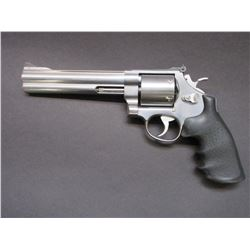 Smith and Wesson Model 657-2 Stainless Revolver- .41 Mag- 6.5  Barrel- Hogue Mono Grips- Unfired in