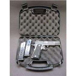 """Citadel Model 1911 Semi Automatic Pistol- .45 ACP- 4.75"""" Barrel- Hogue Grips- 2 Mags- Hard Case"""