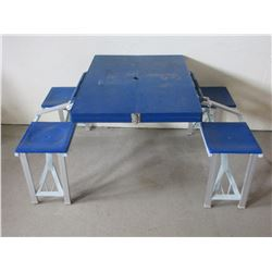 "Picnic Table in a Hard Case- 34"" L"
