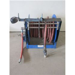 Hose Reel With Hose- Imperial Electric Motor- .33 Horse