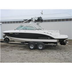 "2007 Chapparell 23.6"" Boat- 350 Fuel Injected Merc Cruiser- Bravo 3 Outdrive- Twin Propellers- Ski T"