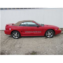 1994 Ford Mustang Cobra- 2 Door Convertible- Special Jack Roush 5.0L V* Making 240HP- 5 Speed Manual