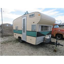 "1967 Scottsman 12"" Travel Trailer- Everything Works- New Jack and Hitch- Good Rubber- Fully Remodele"