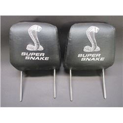Head Rests From 2007 Shelby Super Snake- 1/1000