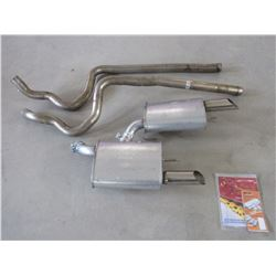 Dual Exhaust and Mufflers from 2007 Shelby Mustang- New Takeoff