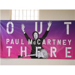 Paul McCartney at Washington- Grizzly Stadium Missoula MT Banner- 1/2- 20' X 5'