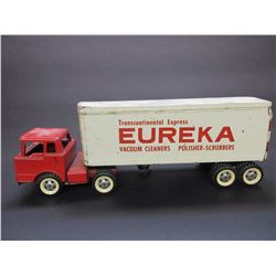 "New Tonka Style Tractor and Box Trailer- 22""L X 5.5""W X 8""H"