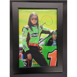 "Signed Danica Patrick Photo- Frame 21"" X 15.5"""