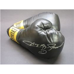 Sugar Ray Leonard Boxing Gloves- Signed Photo- Letter of Authenticity