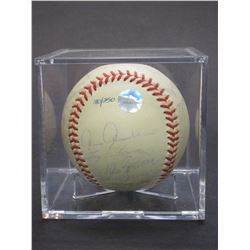 Baseball Signed By 1999 World Champion Yankees- Official 1999 World Series Ball- 180/250