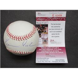 Signed Kevin Costner From Field of Dreams and Bull Durham Baseball- Letter of Authenticity