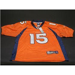Signed Tim Tebow Denver Bronco Jersey- Possibly the Last Bronco Jersey Signed by Tebow- Letter of Au
