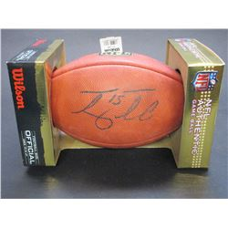 Signed Tim Tebow NFL Authentic Game Ball- Letter of Authenticity