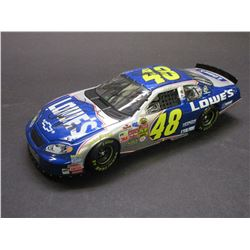 Signed Jimmie Johnson 1:24 Scale Limited Edition 2004 Monte Carlo Stock Car- Certificate of Authenti