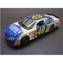 Signed Jimmie Johnson 1:24 Scale Caliber Limited Edition 2002 Special Paint Monte Carlo Stock Car