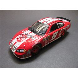 """Signed Kasey Kahne 2004 Intrepid Elite Stock Car- 1/600- 1:24 Scale- 8.5""""L X 3""""W X2.25""""H- Letter of"""