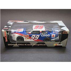 "Jeff Burton Stock Car- Team Caliber- 1:24 Scale- 8.5""L X 3""W X 2.25""H"