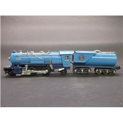 Tinplate Tradition By MTH Electric Trains- #263E Steam Locomotive and Tanker Car