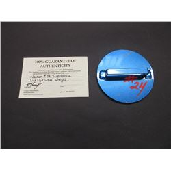 """Lug Nut Wheel Weight- #24- 7.25"""" - Letter of Authenticity"""