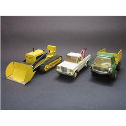 Small Tonka Track Loader- Small Tonka Tow Truck- Small Tonka Stock Truck