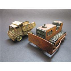 Tonka Style Dump Truck- Tonka T-6 Bulldozer
