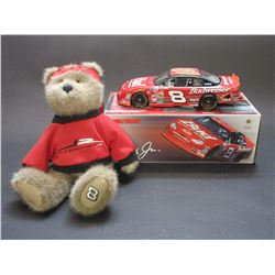 Signed Dale Jr 2000 No Bull Action Clear Window Stock Car- 1:24 Scale- 15/36