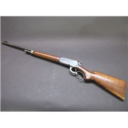 "Winchester Model 71 Lever Action Rifle- .348 WCF- 24"" Barrel- Long Tang- Bolt Peep- 1939- #15166"