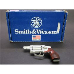 "Smith and Wesson Model 642-1 Airweight Revolver- .38 Spec- 2"" Barrel- Don't Tread On Me and Snake"