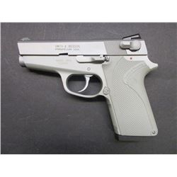 "Smith and Wesson Model 3913 Lady Smith Semi Automatic Hand Gun- 9MM- 3.5"" Barrel- Like New Condition"