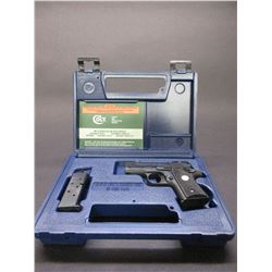 "Colt MKIV Series 80 Mustang Semi Automatic Hand Gun- .380- 2.75"" Barrel- New in Box- 2 Mags- Hard Ca"