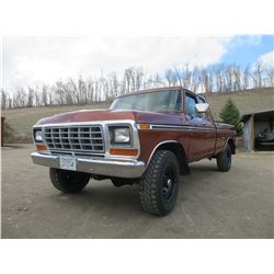 1979 Ford F-350 4X4 Pickup- C-6 Automatic- 77,000 Original Miles