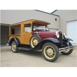 1931 Ford Model T Pickup- Restored- Runs- Spoke Wheels- Cherry Condition- Montana Title
