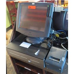 MicroTouch Cash Register System w/ Touch Screen & Receipt Printer