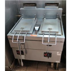 "Commercial Gyoza Cooker 30.5""W x 29""D x 31"" Front Ht"