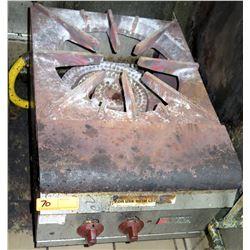 "Wolf Natural Gas Single Burner Stock Pot Range 18""W x 24.5""D x 17""H"