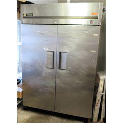 True TM-52 Double Solid Door Reach In Refrigerator
