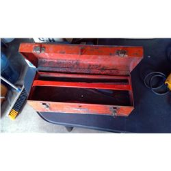 Tool Box - Sears c/w Misc Tools