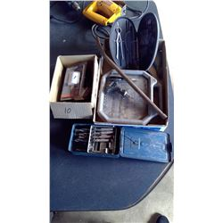 Lot of Drill, Drill Bits, Sockets, Hole Saw