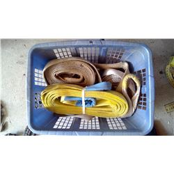 Lot of Straps and Large Tow Ropes