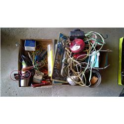 Lot of Trailer Lights and Accessories