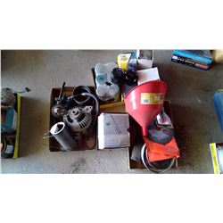 Lot of Alternators, Oil Filters, Auto ACC