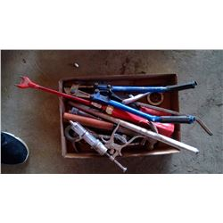 Box of Tools - Bolt Cutters, Hammers, etc.