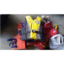 3 Life Jackets - 2 Adult and 1 Child