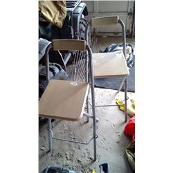 2 Fold Out Stools