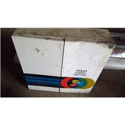 Metal Shop Cabinet - Wheel Safety Service
