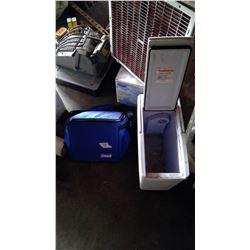 Coleman Cooler Bag and Koolatron Cooler (No Cord)