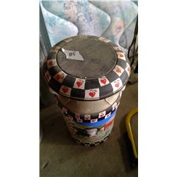 Decorative Cream Can - 5 Gallon