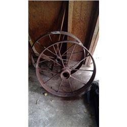 2 Steel Wheels
